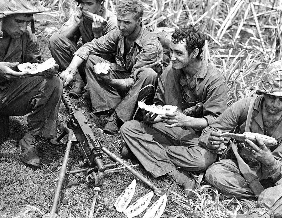 65885 - Военное фото 1941-1945 г.г. Тихий океан.