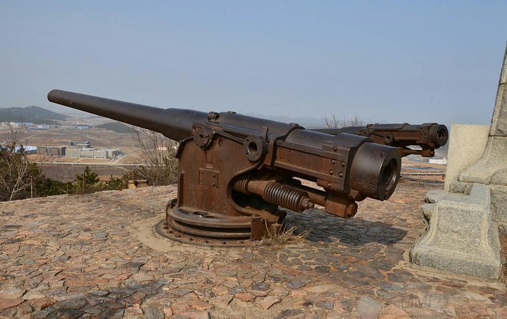 6597 - Корабельные пушки-монстры в музеях и во дворах...