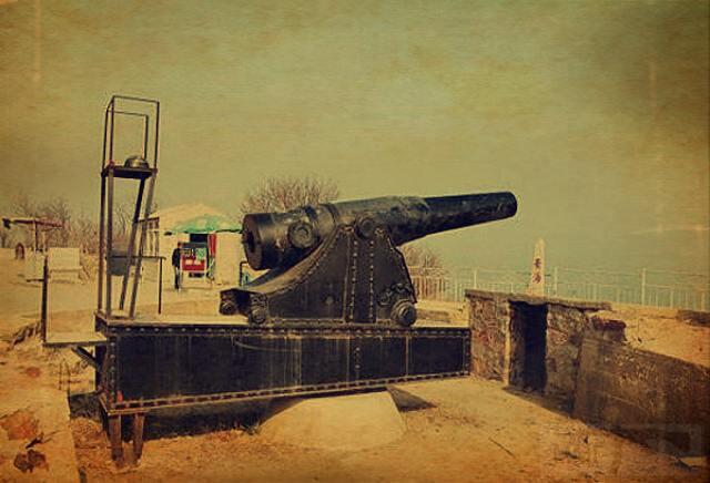 6602 - Корабельные пушки-монстры в музеях и во дворах...