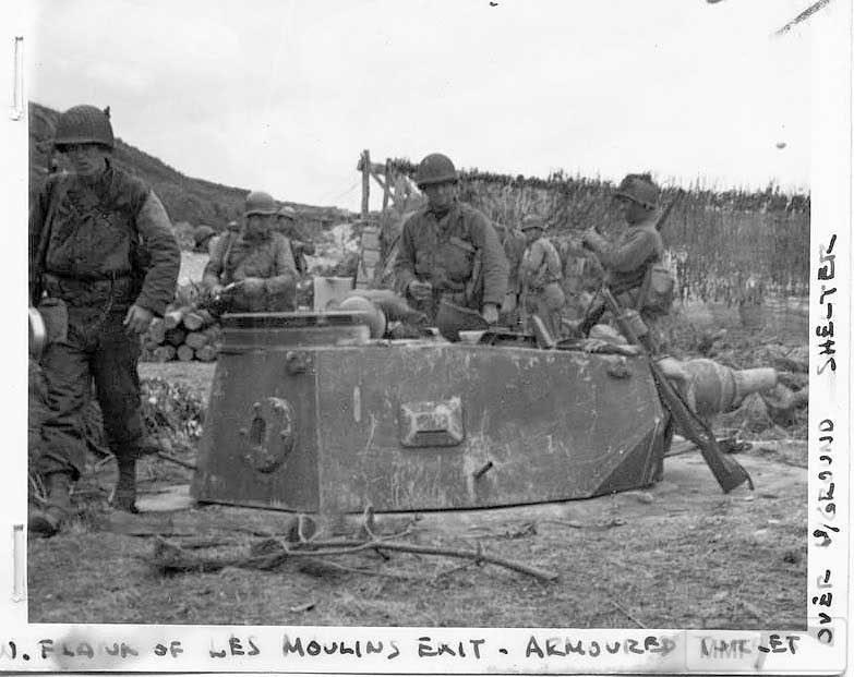 66592 - Военное фото 1939-1945 г.г. Западный фронт и Африка.