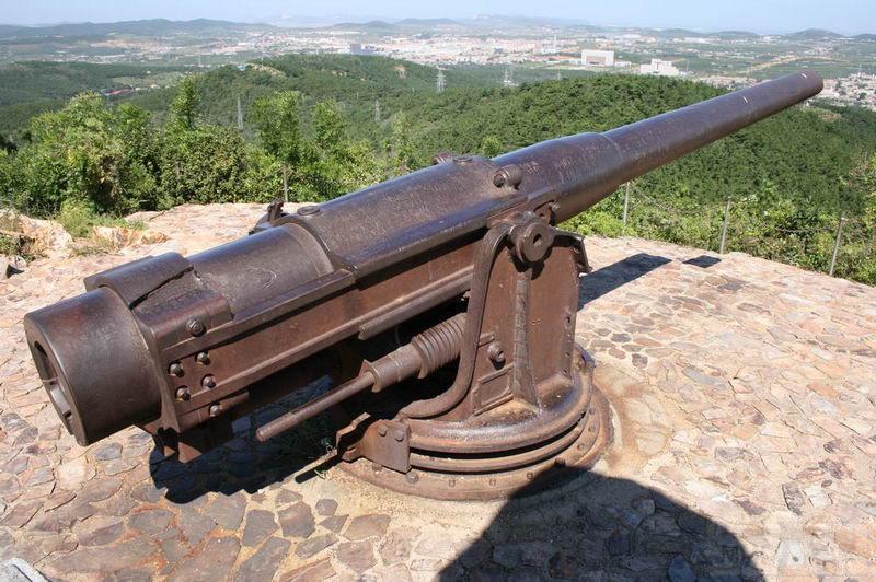 6676 - Корабельные пушки-монстры в музеях и во дворах...