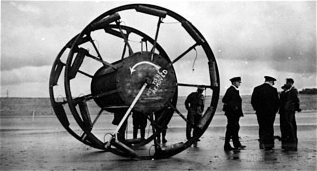 6688 - Самоходный инженерный боеприпас.