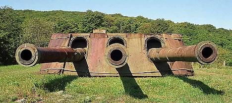 6691 - Корабельные пушки-монстры в музеях и во дворах...