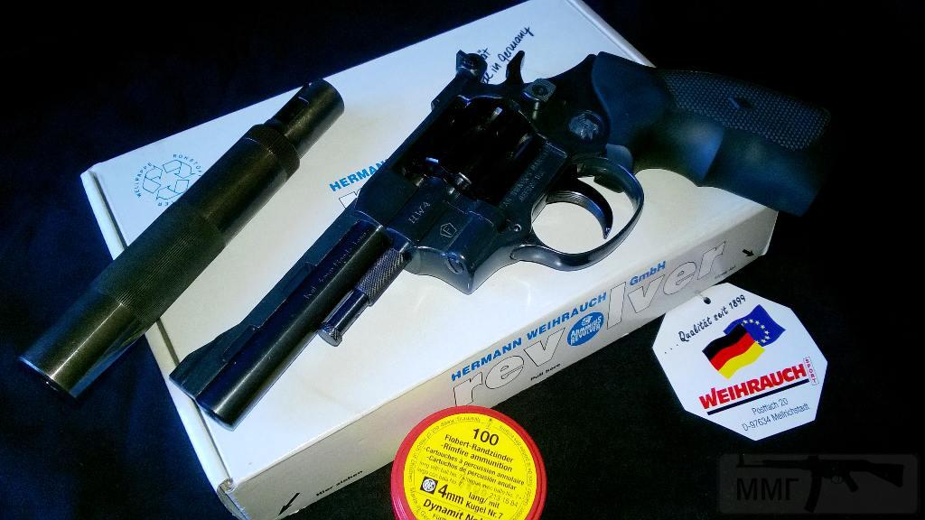 "6734 - Продам револьвер Weihrauch HW 4-4"""