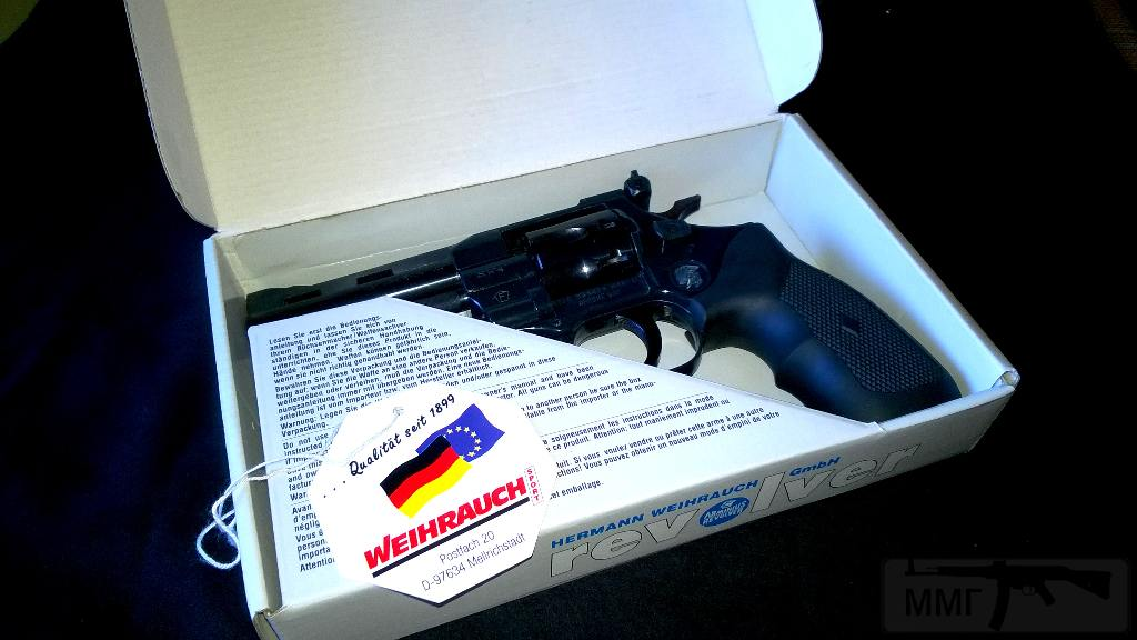 "6773 - Продам револьвер Weihrauch HW 4-4"""