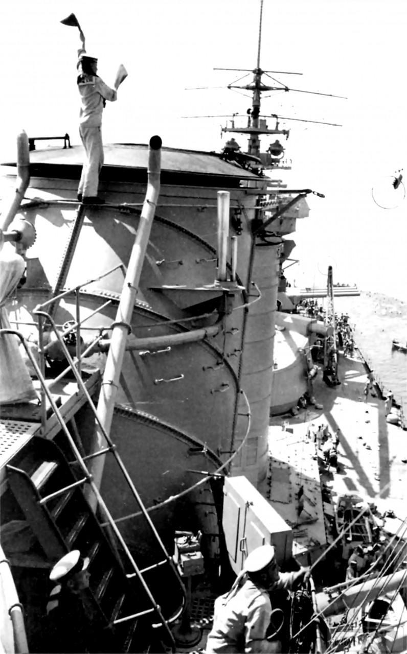 """69239 - Линейный корабль """"Парижская Коммуна"""", 1940 г."""