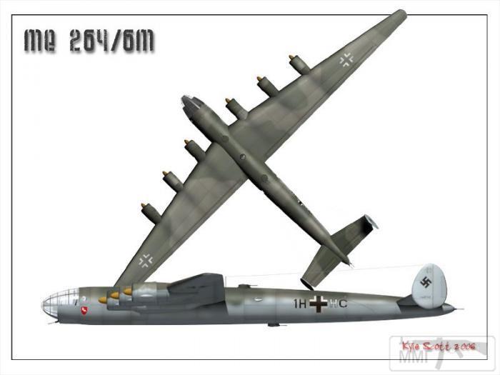 69290 - Messerschmitt Me-264 Amerika
