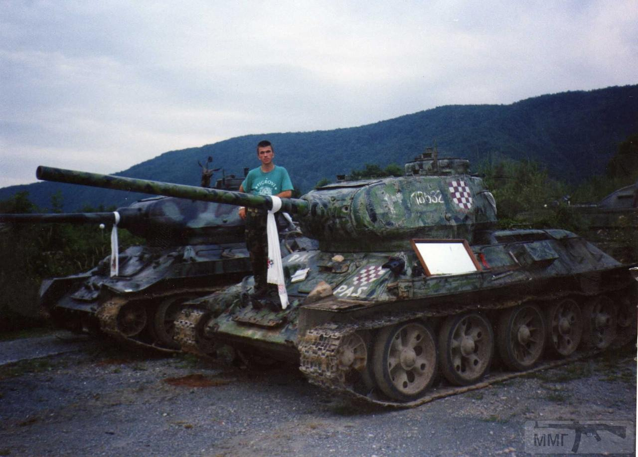 69388 - Послевоенное использование советской бронетехники WW2