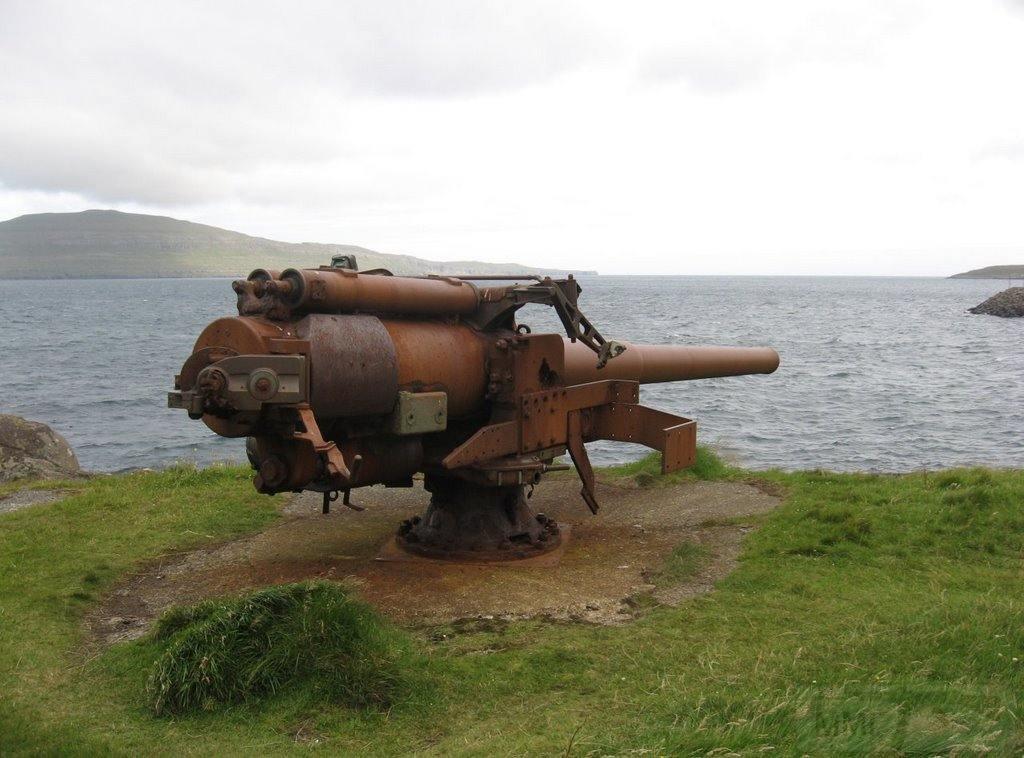 6990 - Корабельные пушки-монстры в музеях и во дворах...