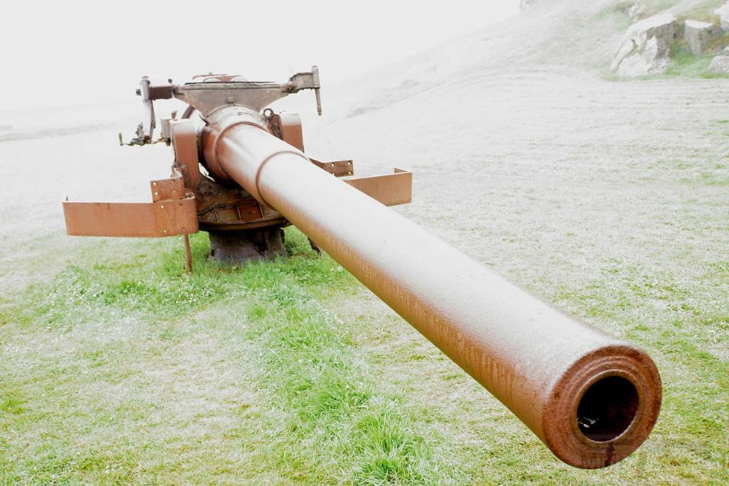 6991 - Корабельные пушки-монстры в музеях и во дворах...