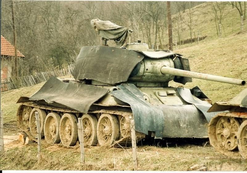 69924 - Послевоенное использование советской бронетехники WW2