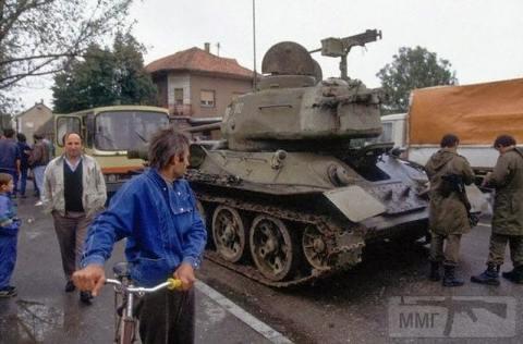 69925 - Послевоенное использование советской бронетехники WW2