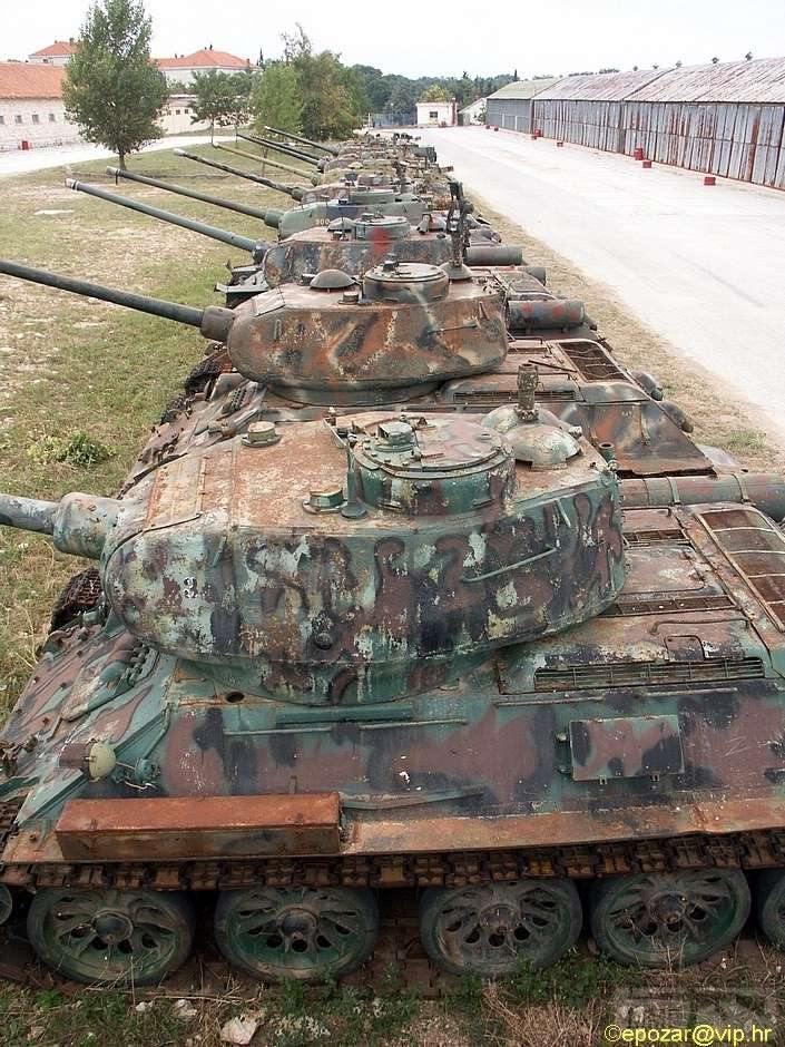 69928 - Послевоенное использование советской бронетехники WW2
