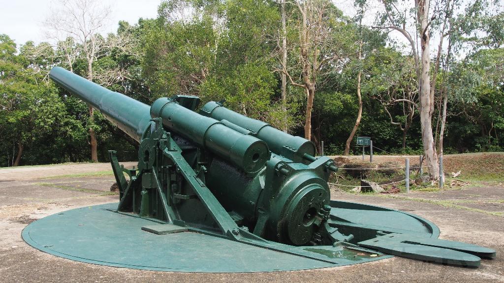 7003 - Корабельные пушки-монстры в музеях и во дворах...