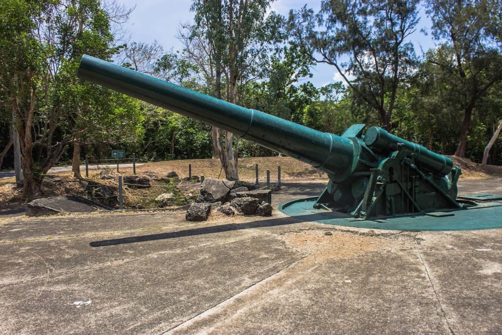 7004 - Корабельные пушки-монстры в музеях и во дворах...