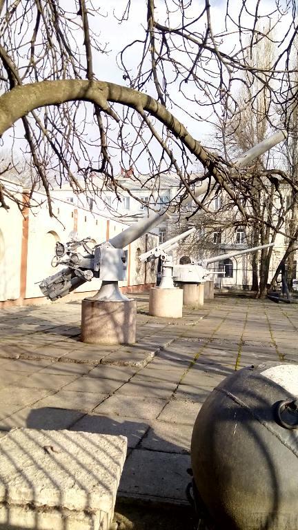 7014 - Корабельные пушки-монстры в музеях и во дворах...