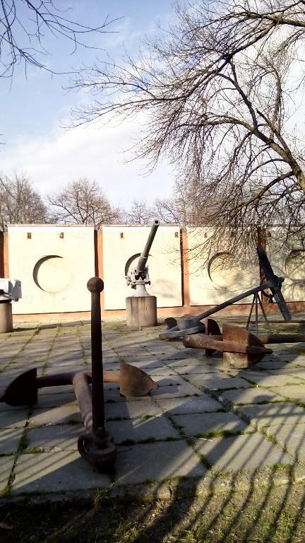 7020 - Корабельные пушки-монстры в музеях и во дворах...