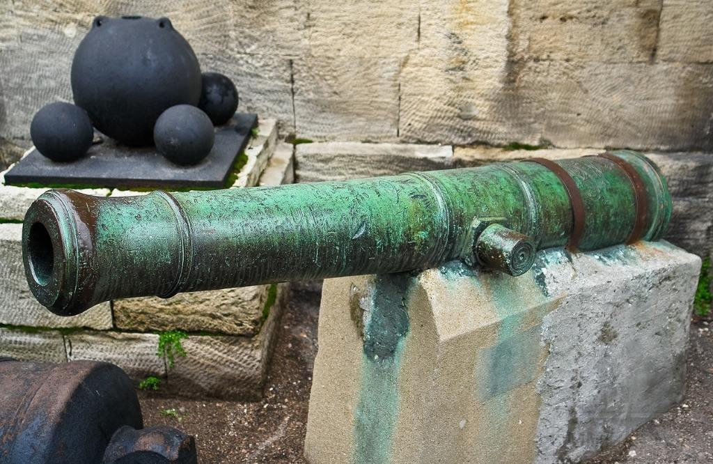 7056 - Корабельные пушки-монстры в музеях и во дворах...