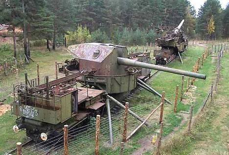 7073 - Корабельные пушки-монстры в музеях и во дворах...