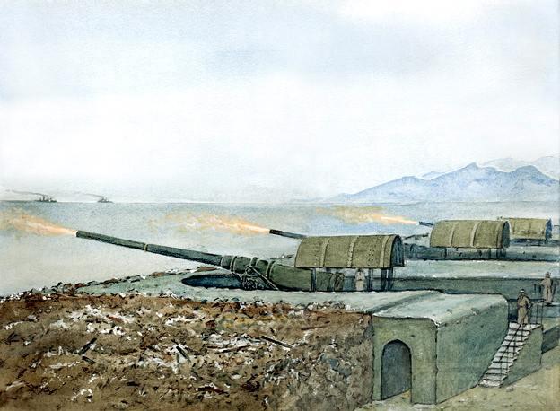 7081 - Корабельные пушки-монстры в музеях и во дворах...