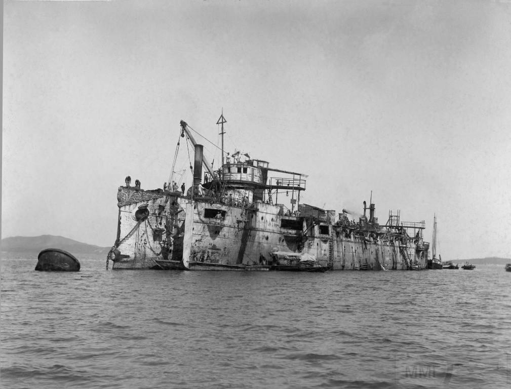 "7144 - Поднятый японцами крейсер ""Варяг"", 1905 год."