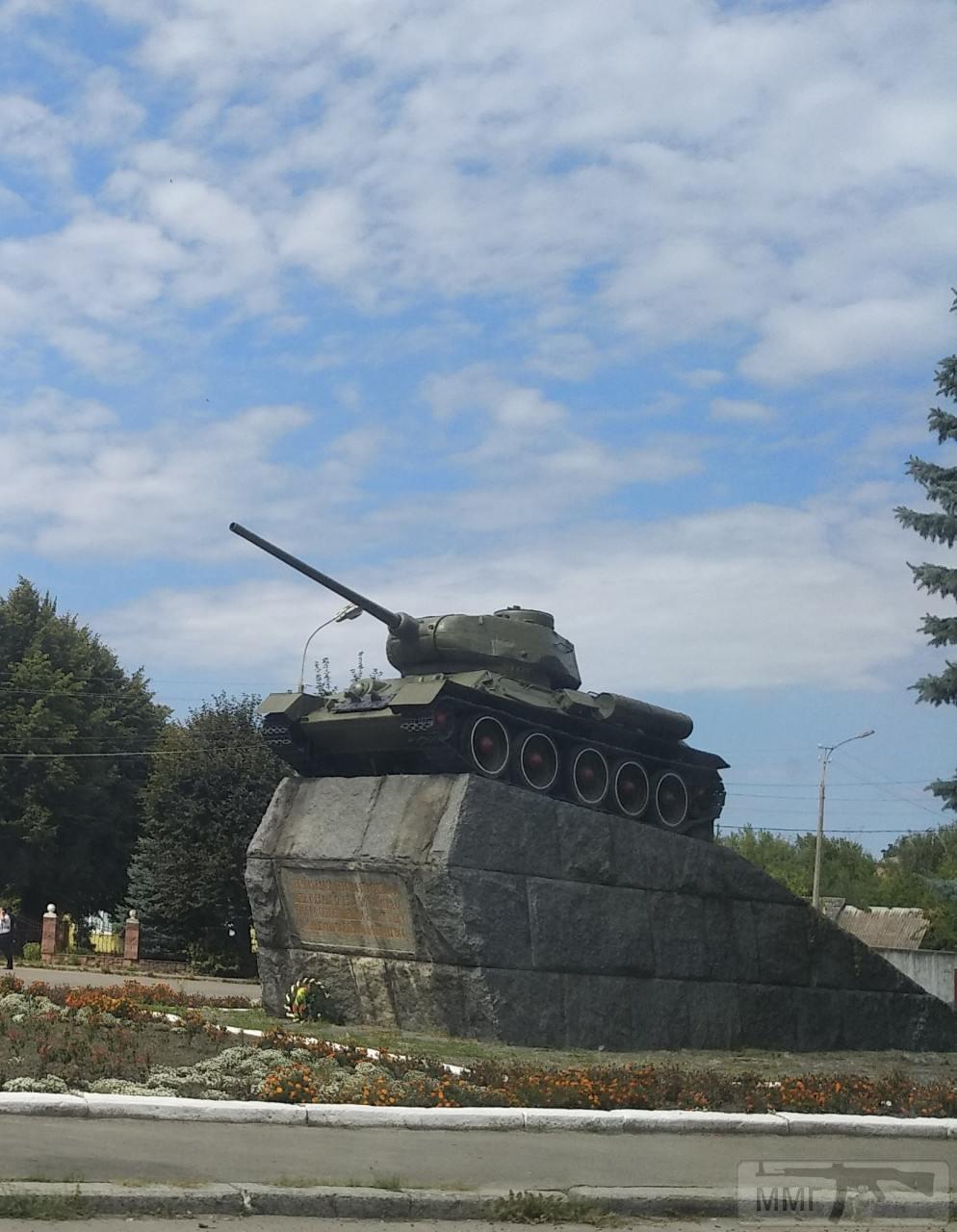 71937 - Танки-памятники в Украине