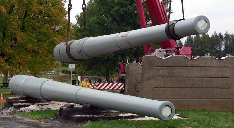 7227 - Корабельные пушки-монстры в музеях и во дворах...