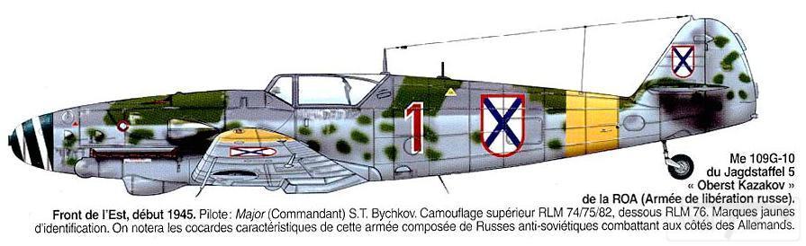 7240 - Советские лётчики в Люфтваффе.