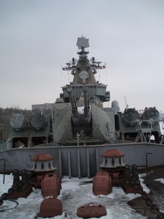 """7249 - Ракетный крейсер пр.1164 типа """"Атлант"""" - """"Украина"""""""