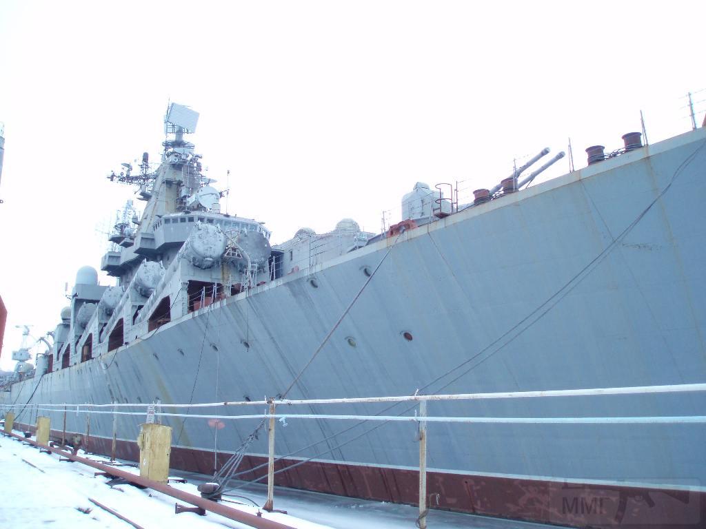 """7256 - Ракетный крейсер пр.1164 типа """"Атлант"""" - """"Украина"""""""