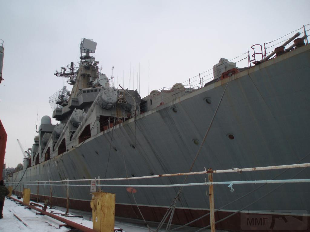 """7258 - Ракетный крейсер пр.1164 типа """"Атлант"""" - """"Украина"""""""
