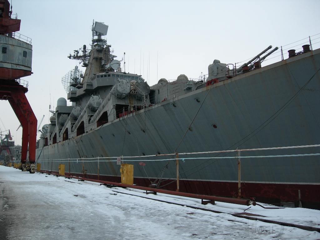 """7259 - Ракетный крейсер пр.1164 типа """"Атлант"""" - """"Украина"""""""