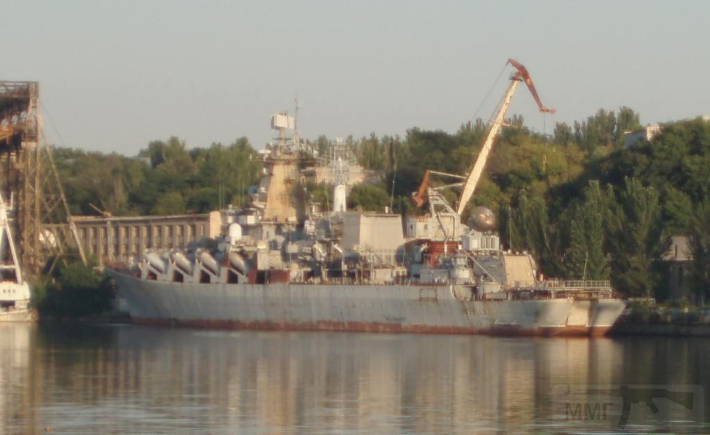 """7264 - Ракетный крейсер пр.1164 типа """"Атлант"""" - """"Украина"""""""