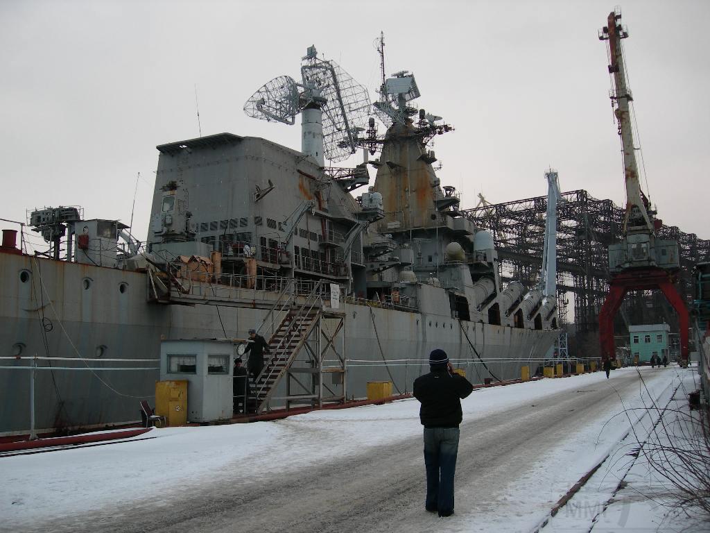 """7265 - Ракетный крейсер пр.1164 типа """"Атлант"""" - """"Украина"""""""