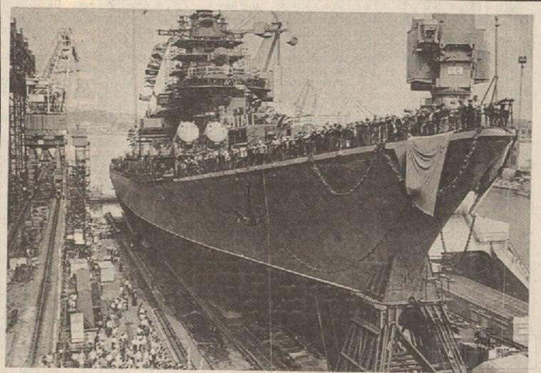 """7266 - Ракетный крейсер пр.1164 типа """"Атлант"""" - """"Украина"""""""