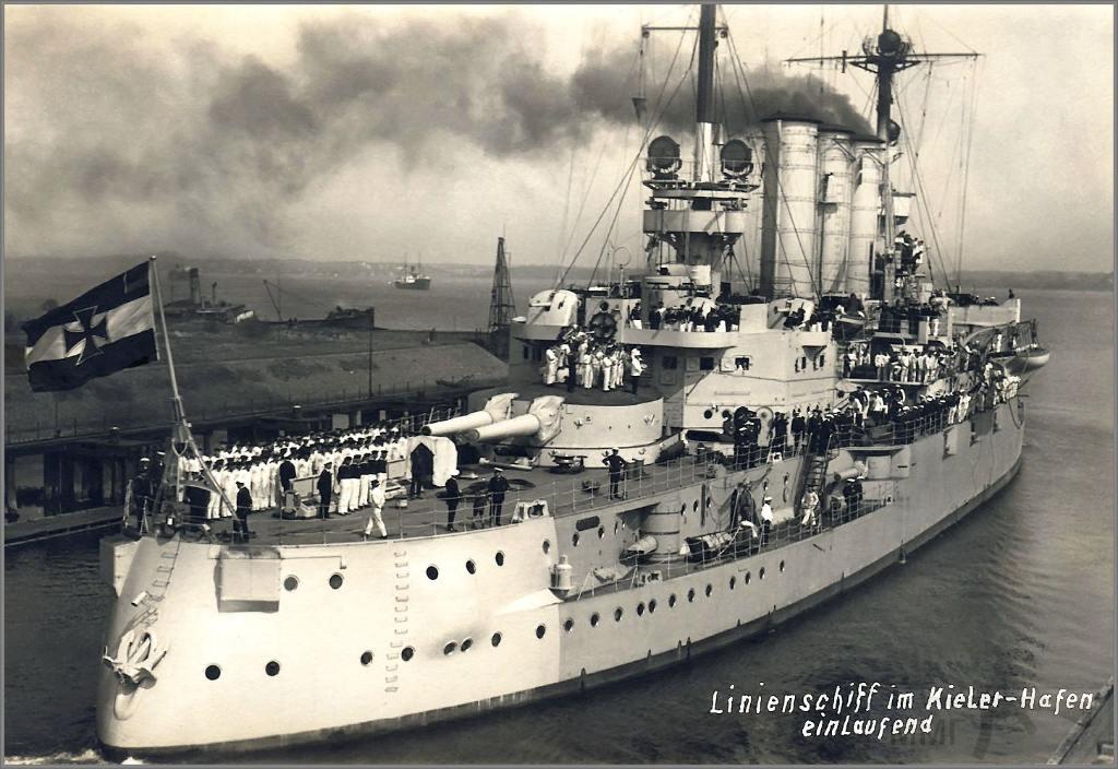 7274 - Deutschland class pre-dreadnought SMS Schlesien