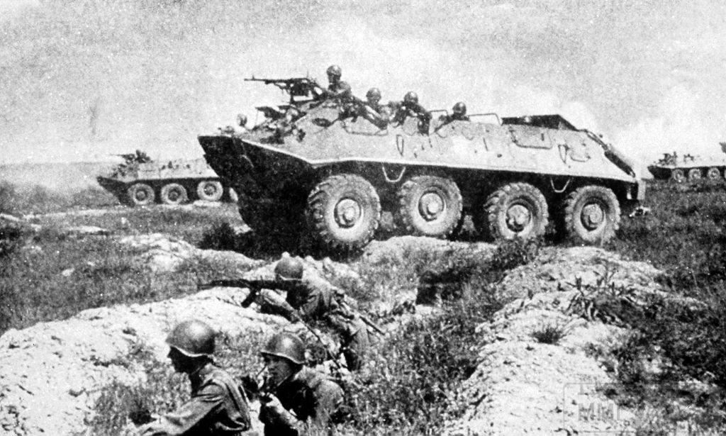 73111 - Советские БТР