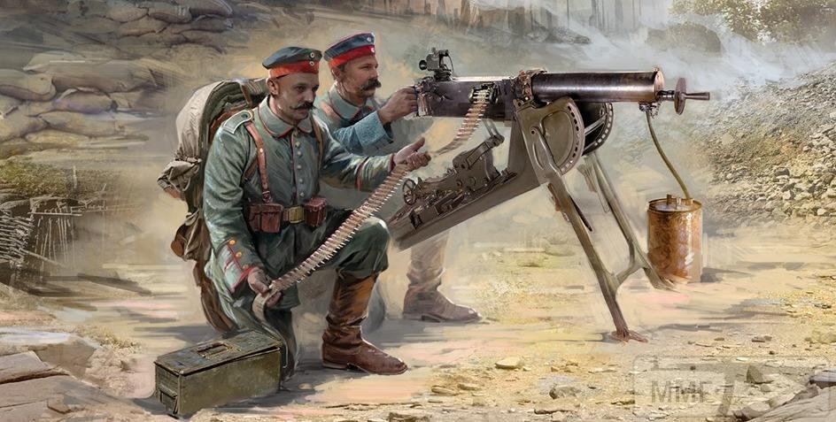 73572 - Первая Мировая, солдаты стран участниц.