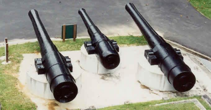 7359 - Корабельные пушки-монстры в музеях и во дворах...