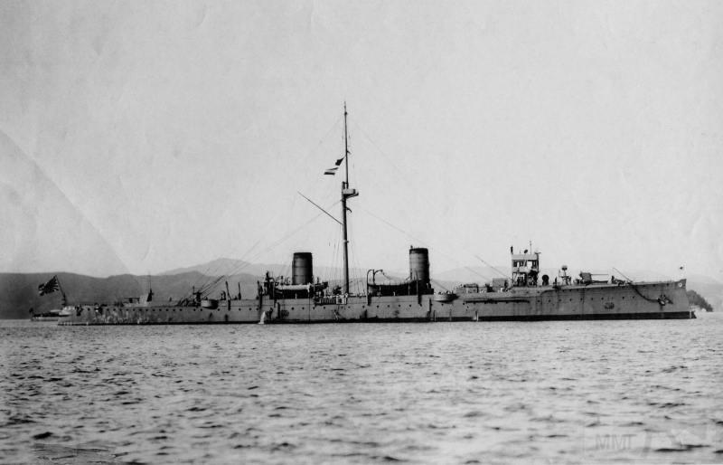 "7455 - IJN Suzuya - бывший крейсер ""Новик"", 1908 г."