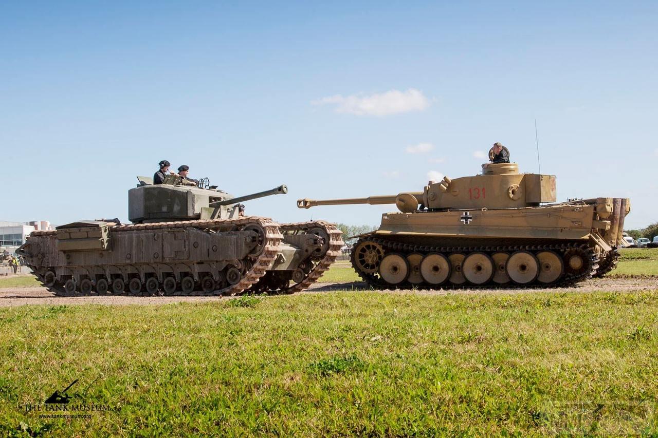 74558 - Британские танки Второй мировой