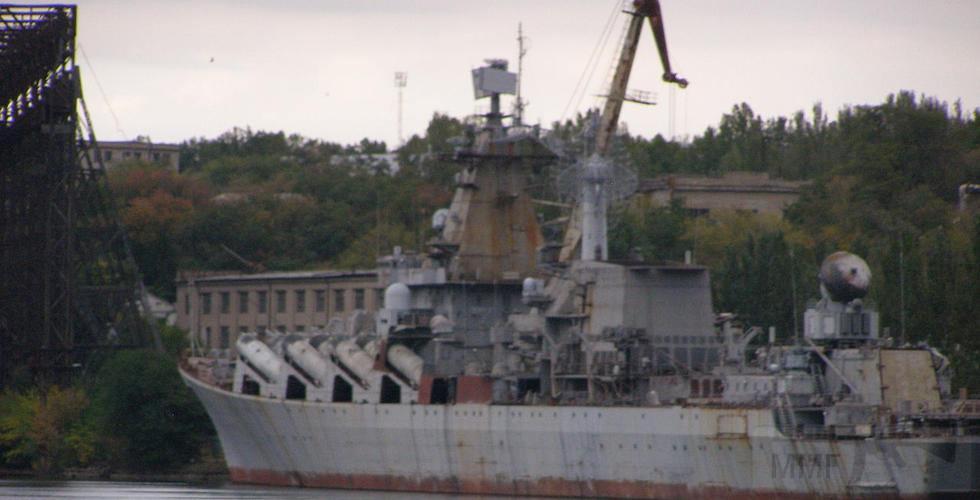 """7459 - Ракетный крейсер пр.1164 типа """"Атлант"""" - """"Украина"""""""