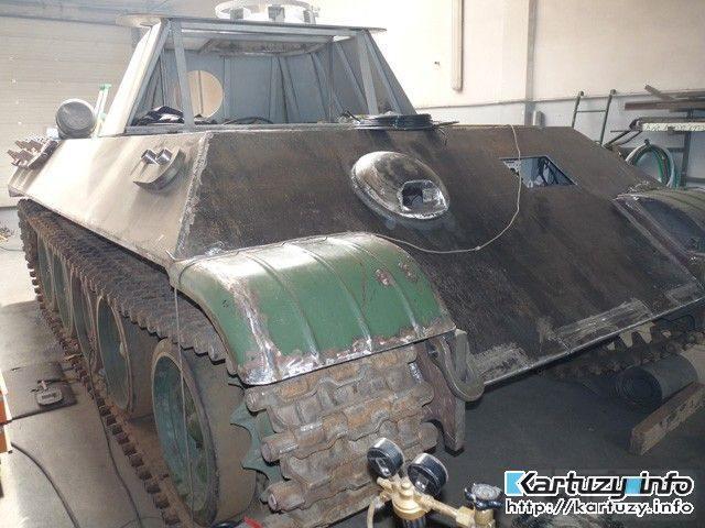 7535 - Деревянный танк
