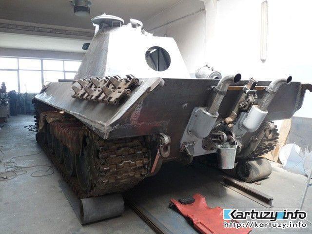 7536 - Деревянный танк