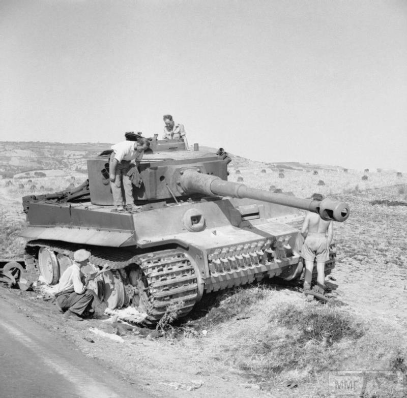 75432 - Танк Тигр - лучший танк Второй Мировой Войны?