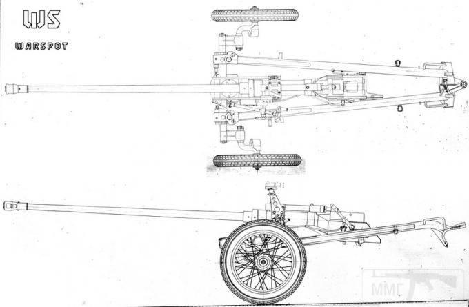 7702 - Опытная легкая противотанковая пушка ЛПП-25.