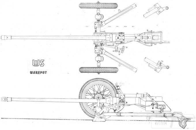 7705 - Опытная легкая противотанковая пушка ЛПП-25.