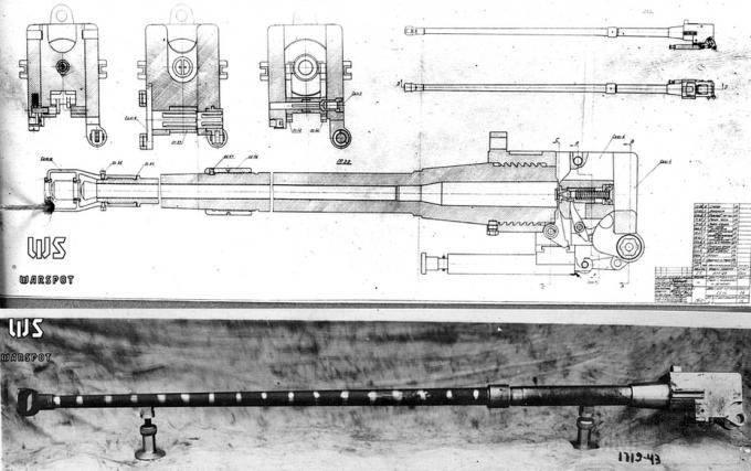 7706 - Опытная легкая противотанковая пушка ЛПП-25.
