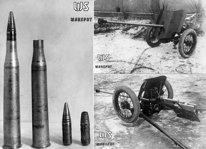 7707 - Опытная легкая противотанковая пушка ЛПП-25.