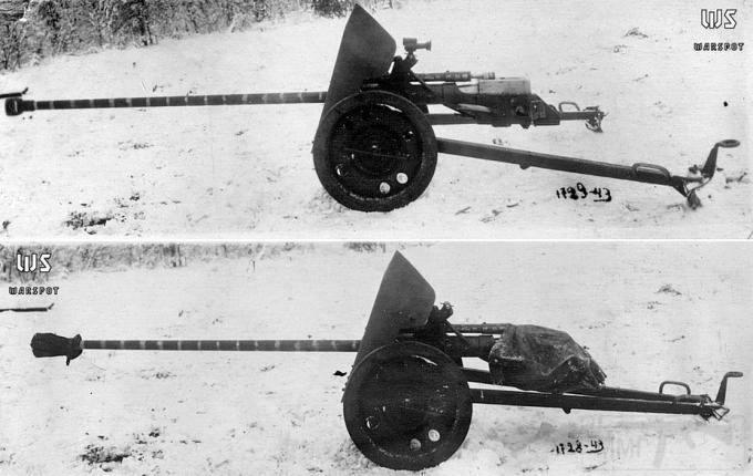 7711 - Опытная легкая противотанковая пушка ЛПП-25.